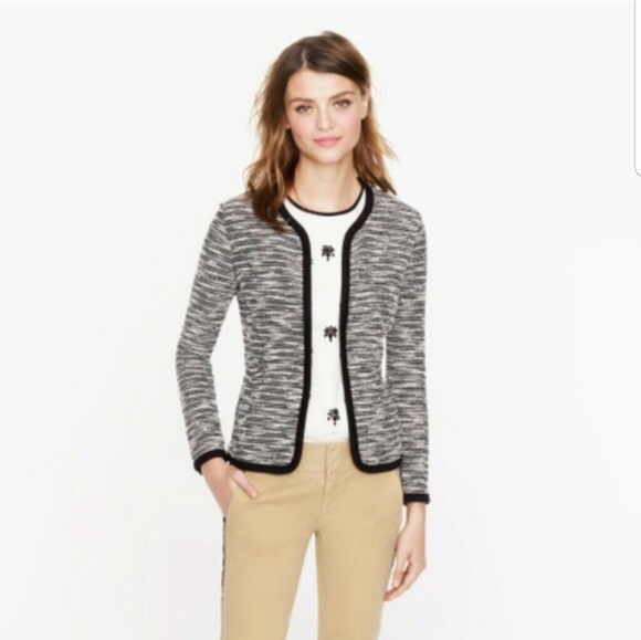 J. Crew Tops - Offer $60🌻J.Crew Bouclé Tweed Jacket